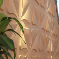 Acrylic Plastic 3D decorative wall covering panels