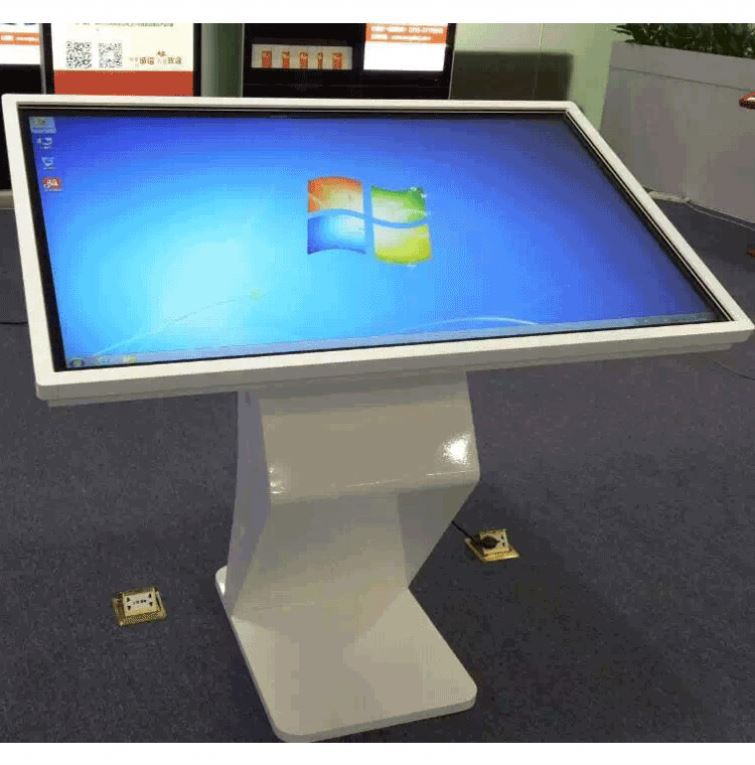 Library lobby Self-service Touch Screen Kiosk / stand IR touch screen Monitor