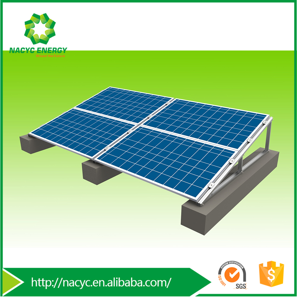 Latest and Cheapest 100kva 100kw Solar Power System for Flat Roof Solar System-Nacyc VenusII
