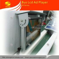 22 inch auto copy function metal case bus handle advertising