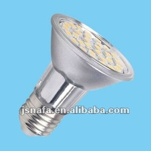 best product 230v AC 5050 smd e27 led par bulb 5w