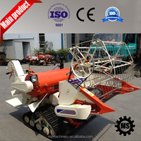 Mobile paddy rice cutter