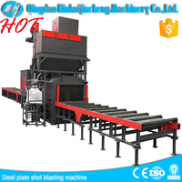 roller conveyor shot blasting machines/touch screen for omron/dry cleaning machine price