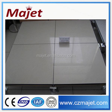 Changzhou data center high density laminate or vinyl hpl tile raised access floor system