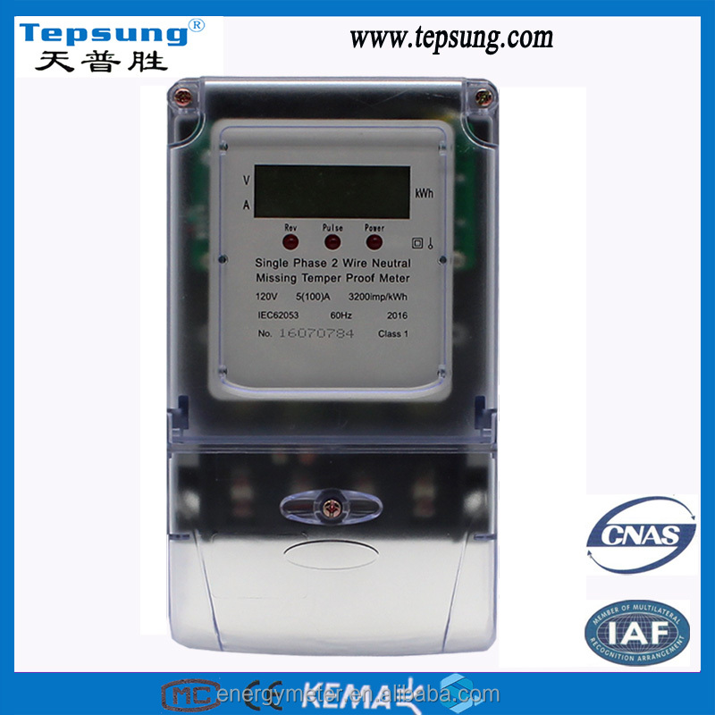 digital electric meter reverse