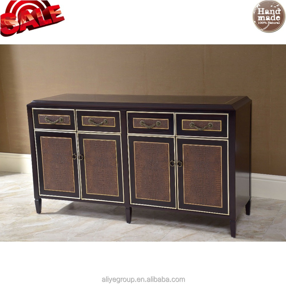 Foshan factory suppliers luxury hobby lobby wooden sideboard MC05-16