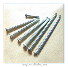 China supplier Twist Shank Concrete Steel Nais, Skew Fluted Steel Nails