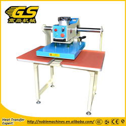 special quality pneumatic double stations heat press machine-D with stand
