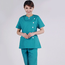 The new isolation gown separates the nurse uniform