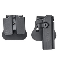 Gun accessories tactical Polymer Holster for 1911 Variants for hunting Black