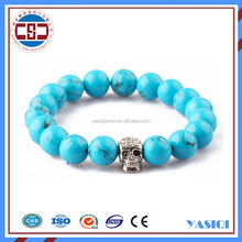 2016 Trending hot products European Turquoise beads Bracelets for sex women and men