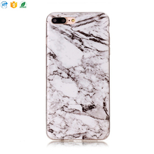 Free sample soft marble phone case for iphone 8 cover