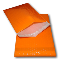 Custom slide orange xpe/epe foam insulation corruga colored mailer boxes video matte CD india poly card and envelope cheap