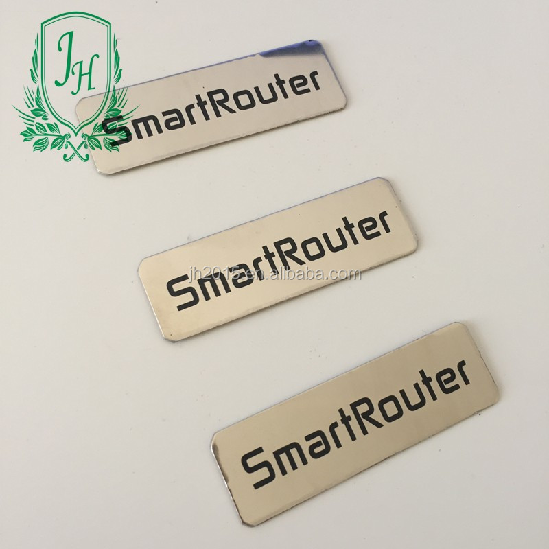 High Quality Logo Etch OEM Customized Stainless Steel Aluminium <strong>Metal</strong>