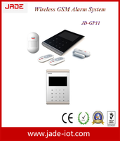 Wireless home alarm system security and GSM SMS alarm JD-GP10