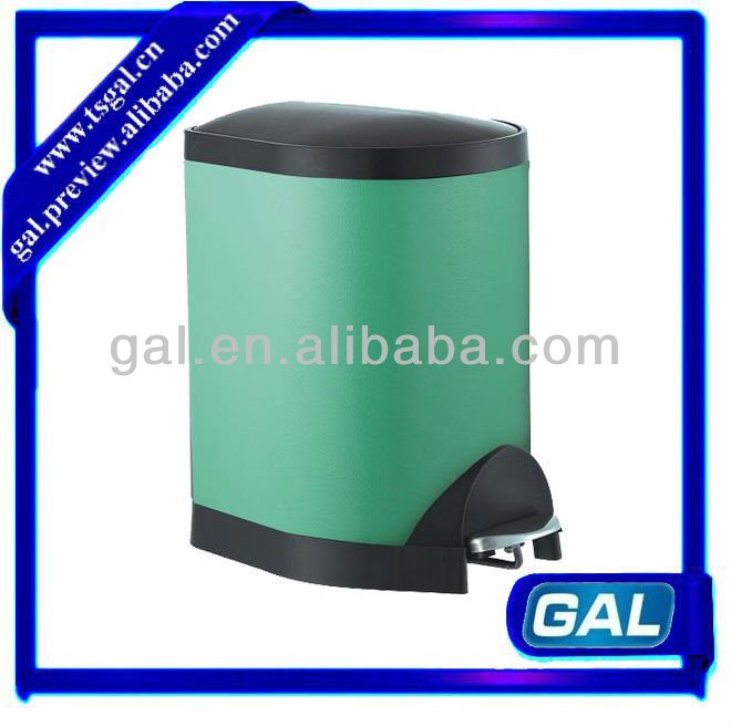 stainless steel dustbin recycle pedal type