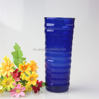 China handmade glassware manufacturer best seller!!! cold color change mug magic beer glass drinking cup Jiangsu factory