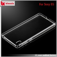 High impact top quality mobile phone shell for sony E5