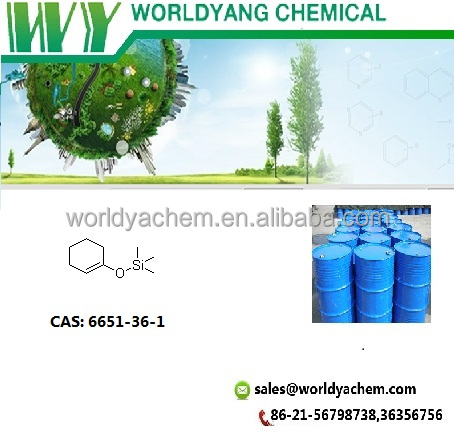 Worldyang 1-Cyclohexenyloxytrimethylsilane;cas no 6651-36-1;colorless liquid