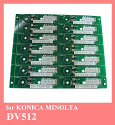 for Konica Minolta bizhub 4050 4750 cartridge TNP44 TNP46 toner reset chip