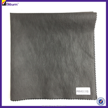 Soft rayon embossing pu leather for garment pants clothes