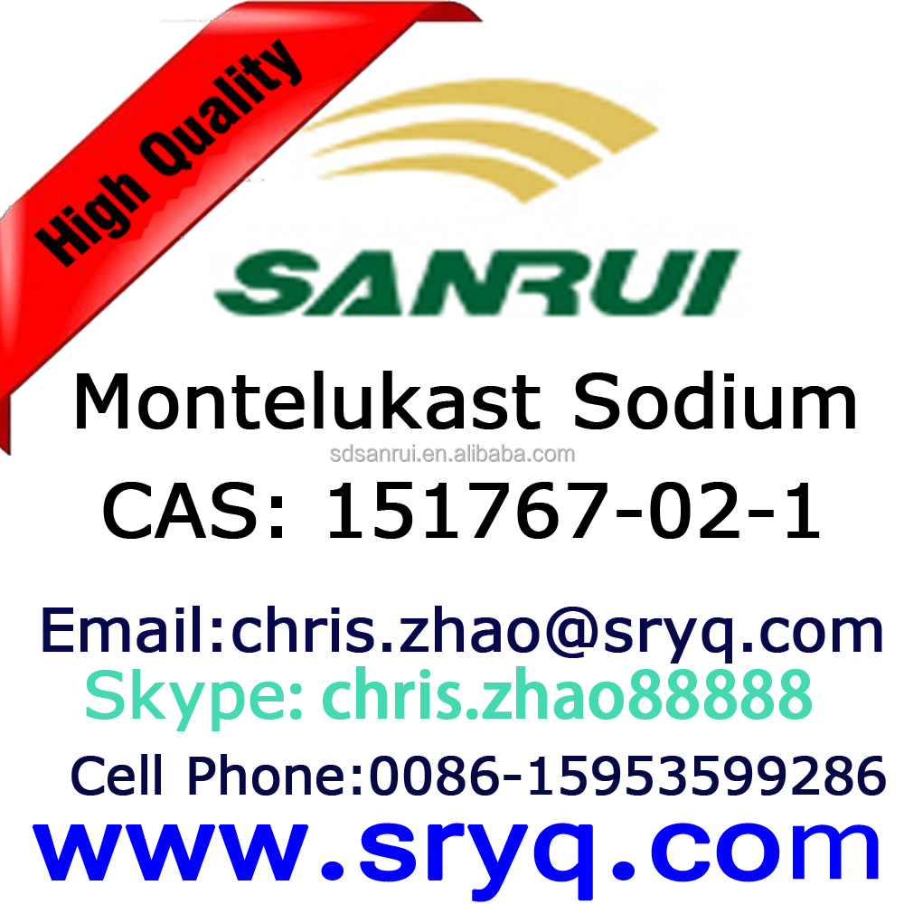 GMP_151767-02-1 Montelukast Sodium, High Purity Montelukast Sodium