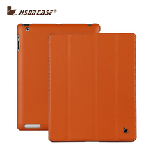 Hot New Product Folding Stand Leather Tablet Cover Case for iPad 4 For iPad 4 Case Smart Cover