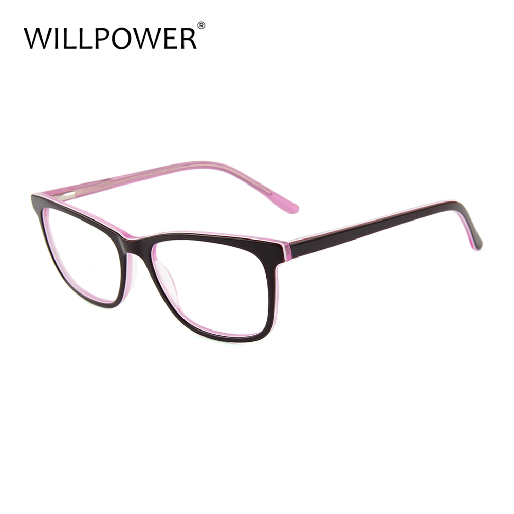naked glasses Vintage Reading Glasses with spring hinge optical frames eyeglasses 2017 acetate eyewear Frame