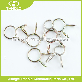 Stainless steel grating Single wire spring band clamp with various shapes