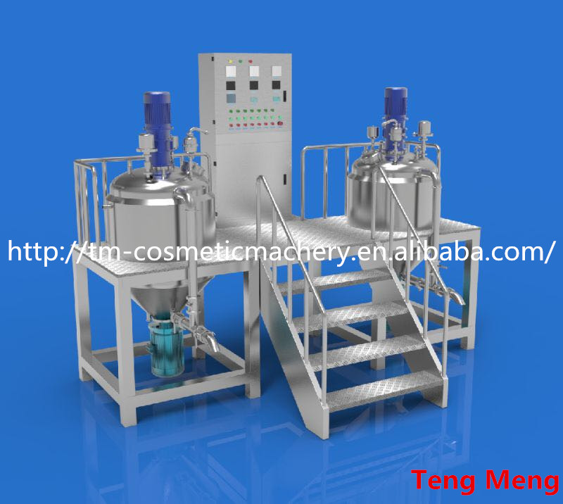 New products 2016 300 L Emulsifying Machine For Shampoo Vacuum Making/Mixing homogeneous