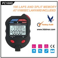 Professional Digital Sport Stopwatch /Promotional Gift 100 laps Timer(PC100D)