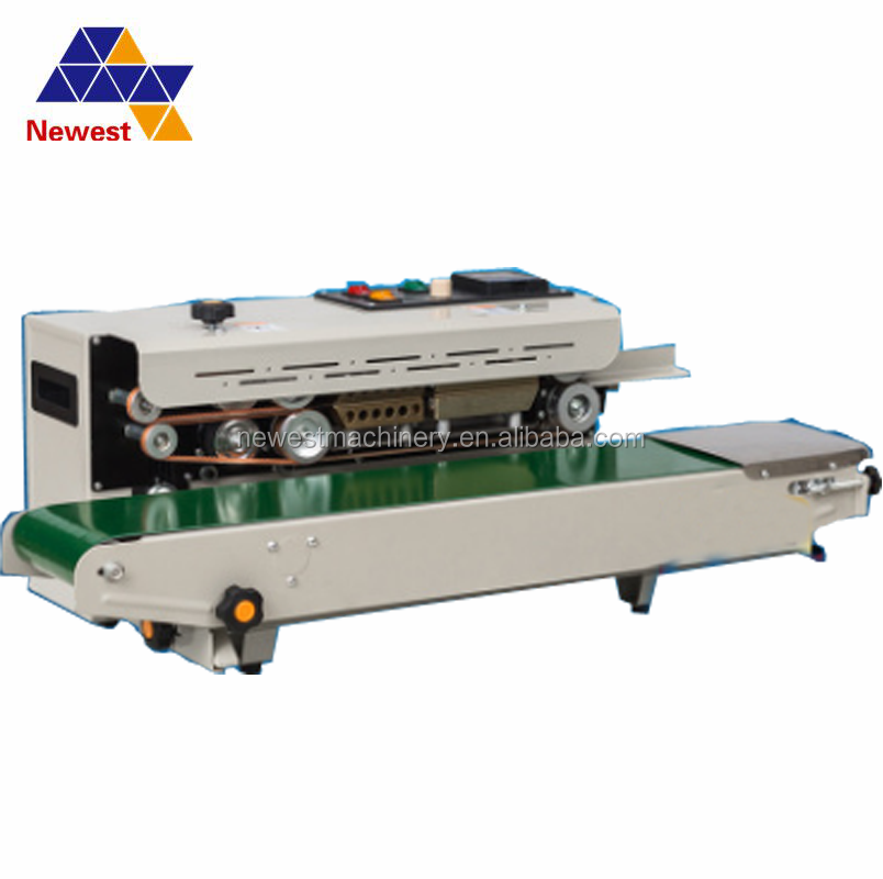 Automatic continuous heat bag sealing machine/bag sealer/plastic film sealing machine