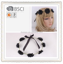 Fashion colorful halloween party , hair wreath for halloween