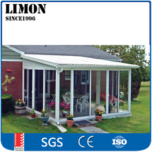 New aluminum villa sun room and winter garden with modern design
