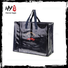 Easy to carry zippered storage bag, non woven bag with zipper, zipper quilt carrier bag