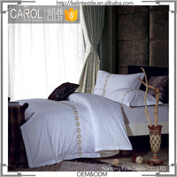300TC jacquard embroidery european style bedding set