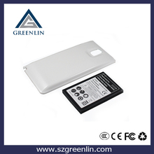 Business high capacity 6800mah extended battery for samsung Note 3 N9000