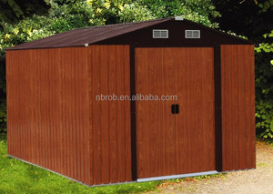 High Performance Home & Garden Easy Accemble Car Storage Shed Metal Shed Sale