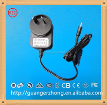 AU plug 5v 1000mA Approval power adapter