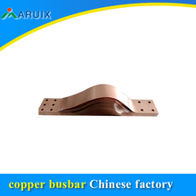 Copper laminated shunt , China factory price flexible copper connection terminal