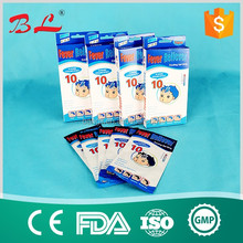 Chinese wholesale free samples cooling gel patch/ Fever Reducing Product Cooling Gel Patch ISO CE