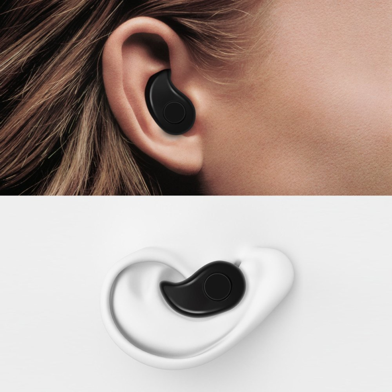 Mini invisiable wireless bluetooth earbuds waterproof for sport