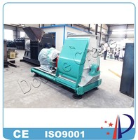 Large capacity water drop type chicken feed hammer mill