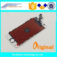 Original Foxconn LCD for iPhone 5 LCD Screen Display with Touch Screen Digitizer Replacement White Black DHL Free Shipping