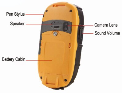 Surveying And Mapping Instrument Via Professional Handheld GIS System