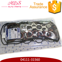 On-time shipmet engine full gasket Overhaul set for Crown GRS182 Engine 3GR OEM: 04111-31560