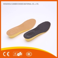 Durable pu custom printed high heel insole
