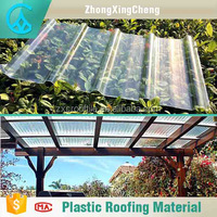 Excellent color stability lowes polycarbonate panels transparent corrugated roofing sheet