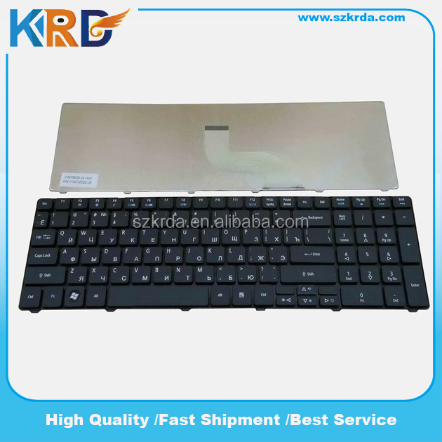 Brand new RU/Russian laptop Keyboard for Acer 5810 5810T 5536G 5738 5740 5536 7735 7738 computer keyboard Black