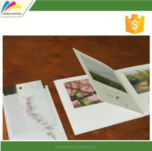 Good price advertising paper pamphlet design with CE certificate